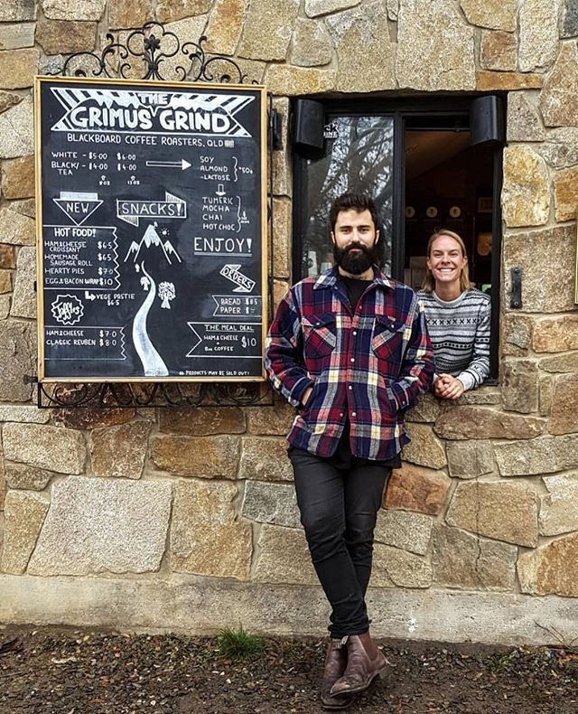 Stoked to see our favourite Alpine cafe @grimusgrind back brewing for the Mt Buller season! Can't wait to get down a visit these legends ☕️🙌🏻☃️