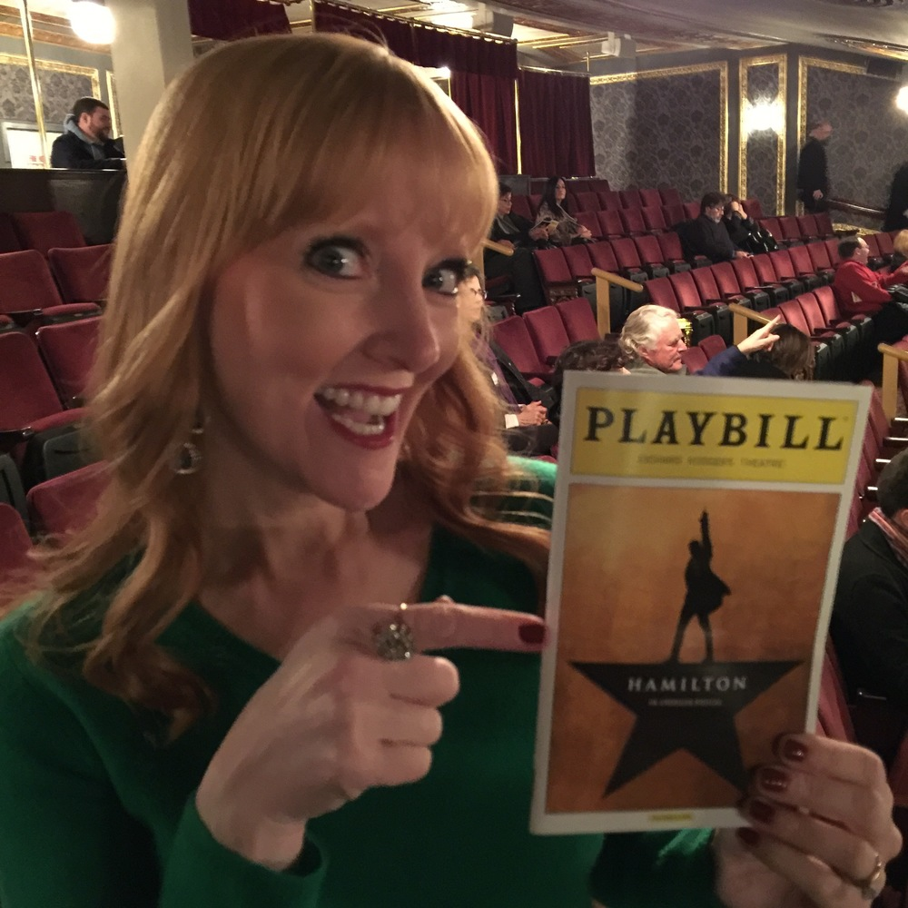 "Amy Sewell at ""Hamilton"""