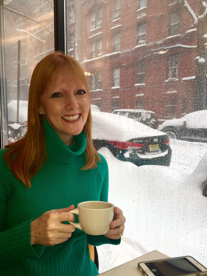 Amy Sewell in 2016 NYC blizzard.