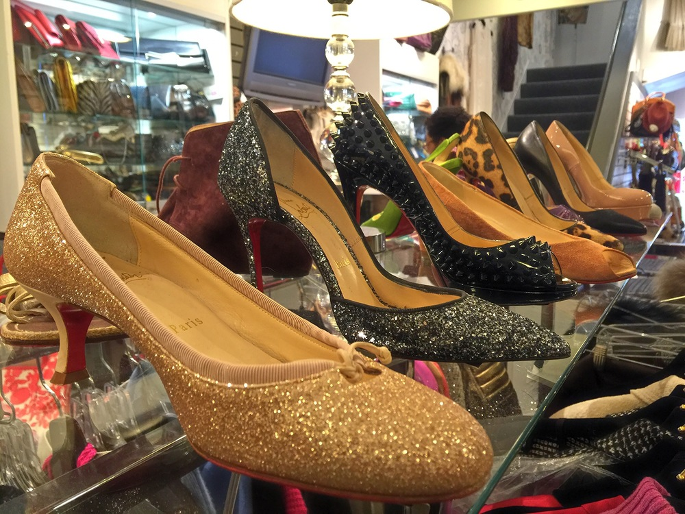Christian Louboutin at Michael's Consignment