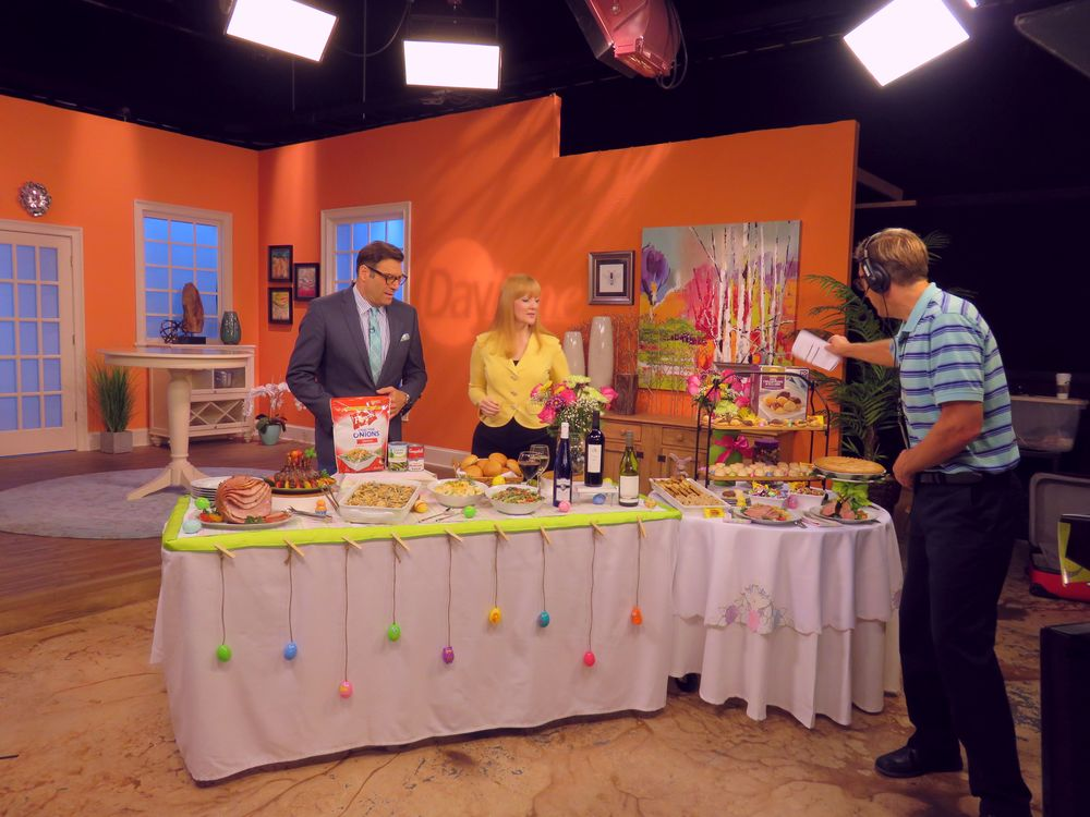 "Amy Sewell for Sam's Club on ""Daytime"" show."