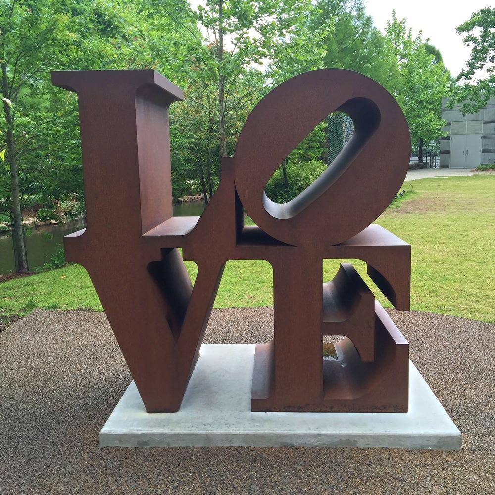 """LOVE"" (Robert Indiana)"