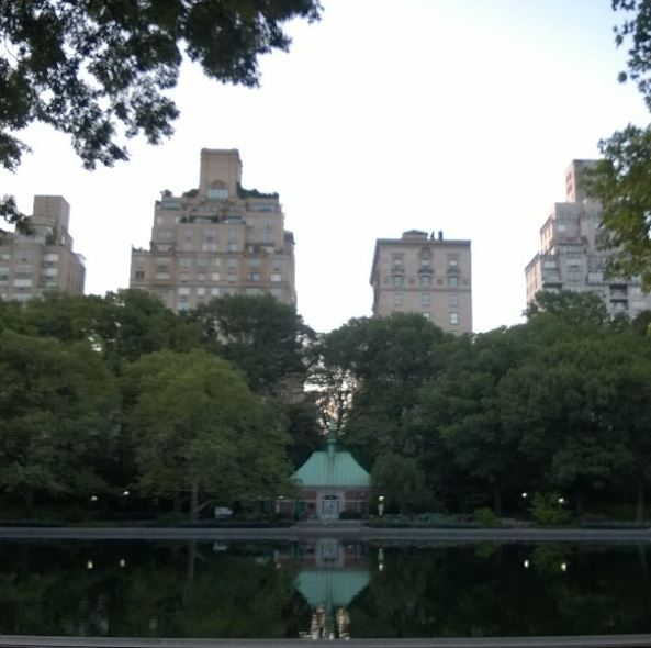 Sunrise In Manhattan Amy Sewell - Central park on east 72nd street