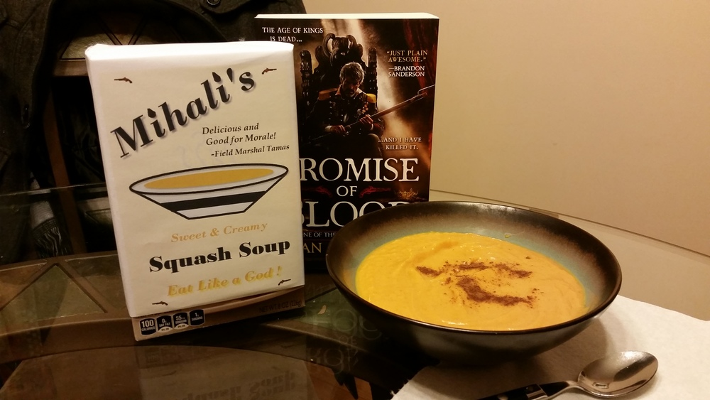 """Mihali's Famous Squash Soup"" by Kristina Bunnell"