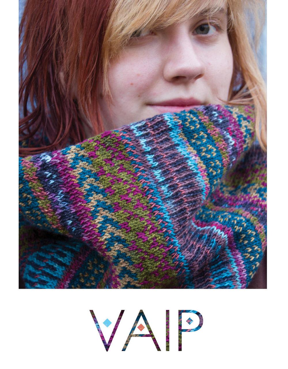 Vaip cowl knitting pattern
