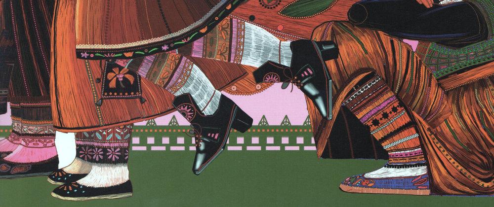Muhu Inglid ( Muhu Angels) Illustrator: Urmas Viik, Author: Kadri Tüür