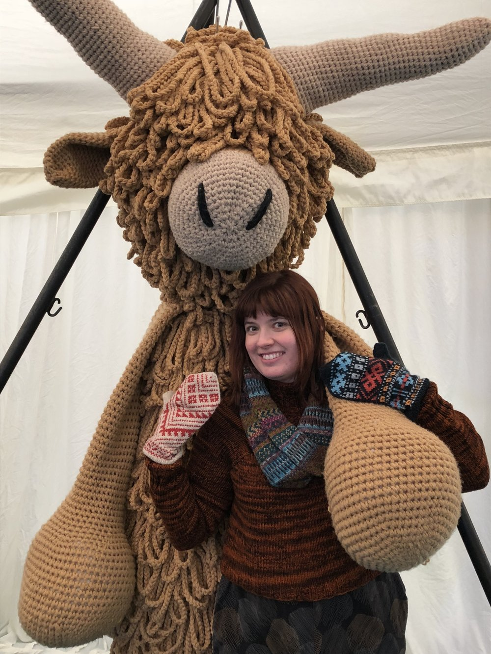 Morag the Highland Coo made by Toft UK