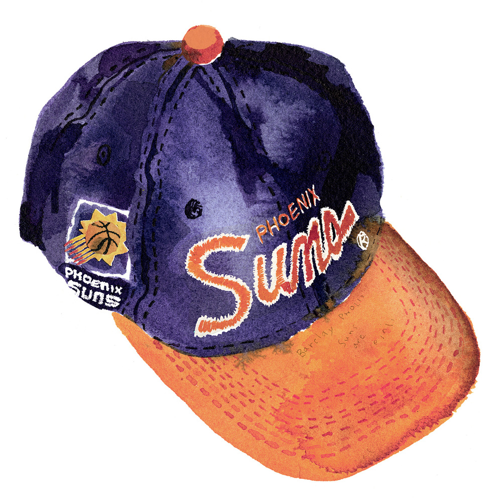 Phoenix Suns   The 90s were a bad scene for my Boston Celtics, so at age 7 I found solace in a second team, and a player I could relate to off the bat just because of his name, Charles Barkley. The Phoenix Suns were fantastic to watch, and looking back now their colors really epitomized the decade.