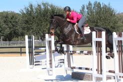 Biara G jumping in Texas