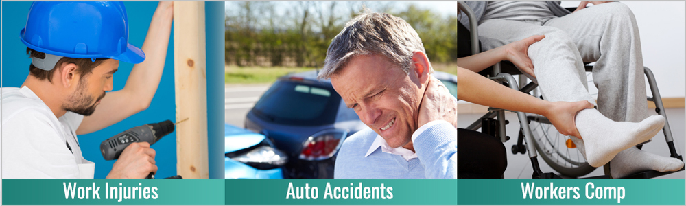 Injured at work or in a auto accident?