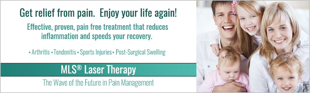 Let us customize a treatment for you.  Call today for your appointment.  Get relief from pain and enjoy your life again!