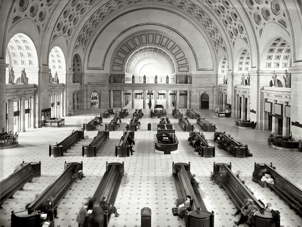 Union Station, Washington DC, 1900s