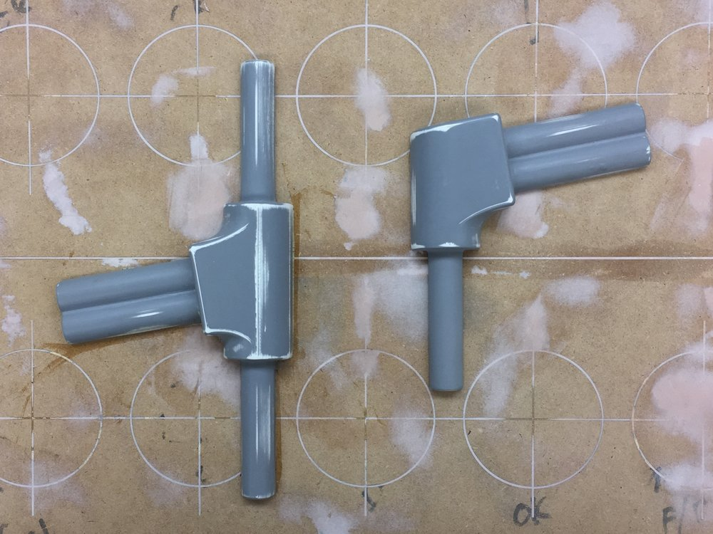 Master parts for sand cast aluminum mold
