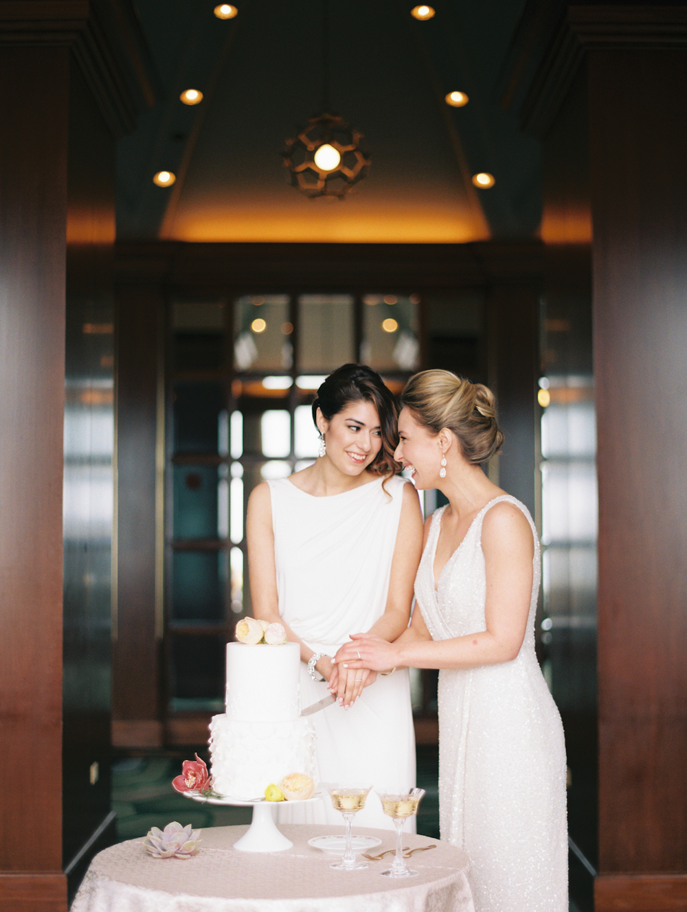 Clover Events | Intimate Elopement | Photos by Kristin La Voie Photography