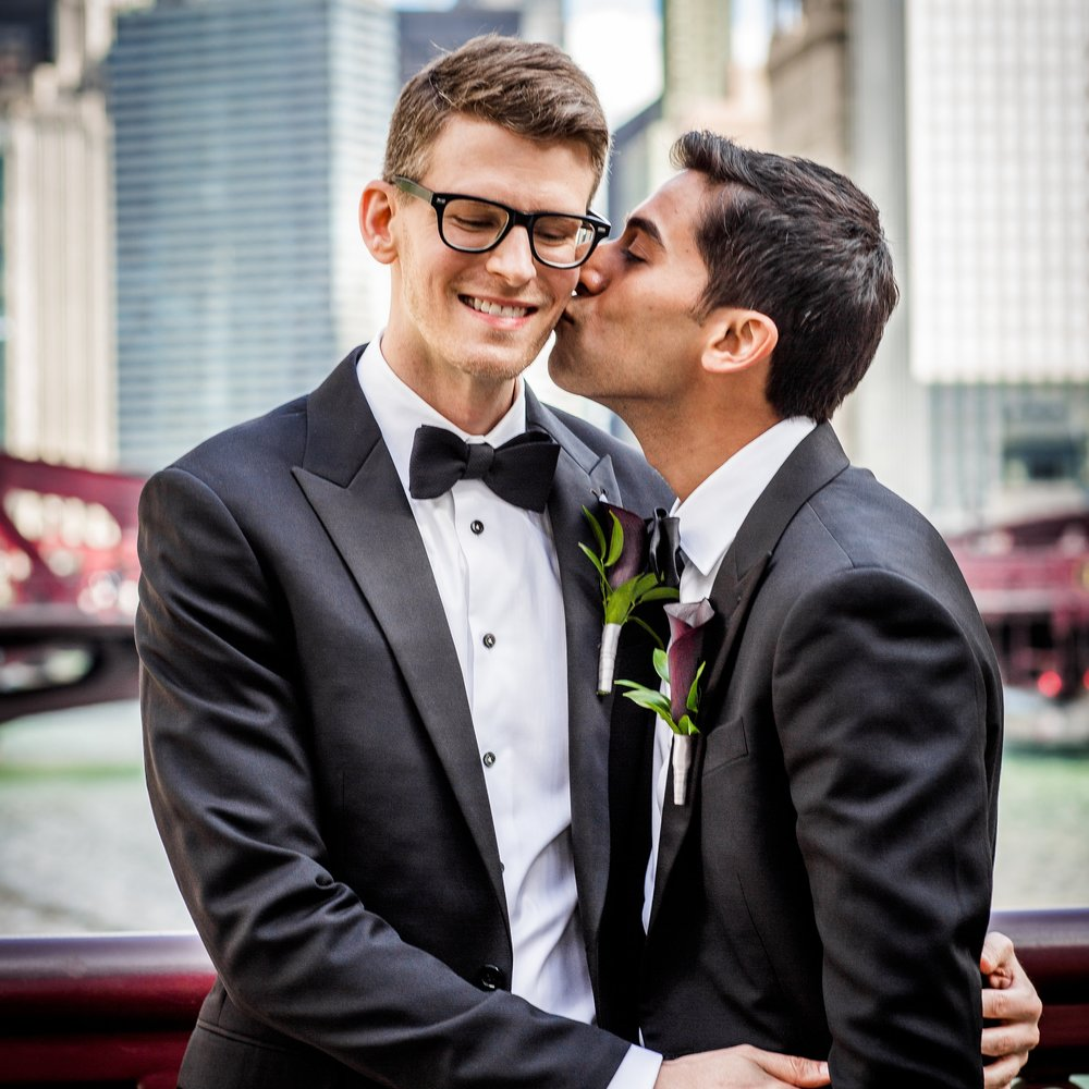 Clover Events | Chicago Same-Sex Wedding | Photos by Allison Williams Photography