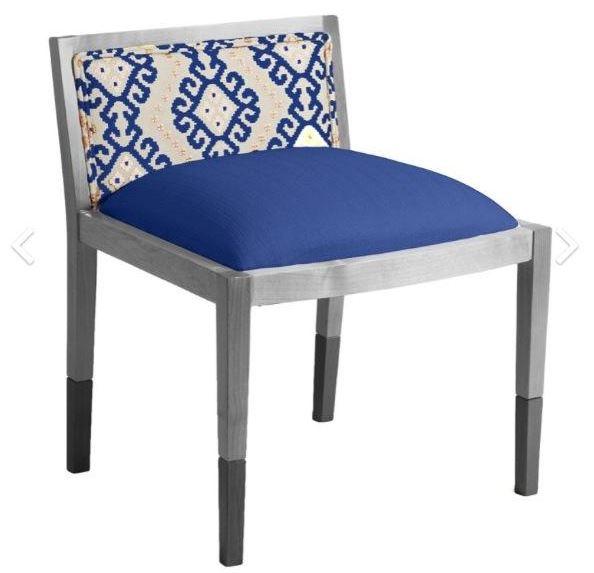 Loni M. Designs 1940's Inspired Slipper Chair