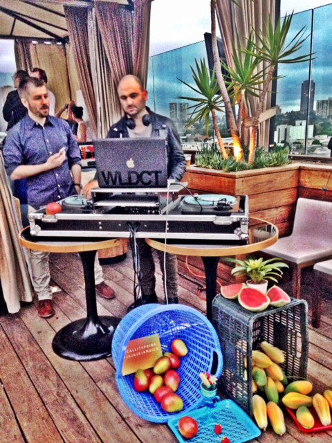 DJ at the Call It Spring Summer 2014 Launch Party.