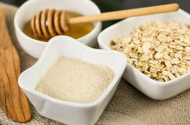 Organic Oatmeal Cleansing Exfoliator by Nina Curtis, Blendtec