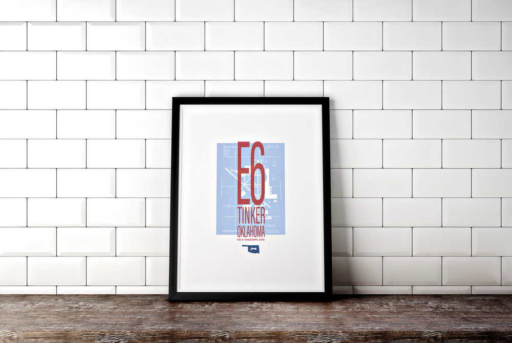 E6 Military Print Michelle Lea Creative