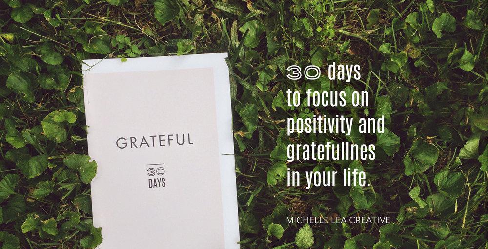 Michelle Lea Creative Grateful Journal