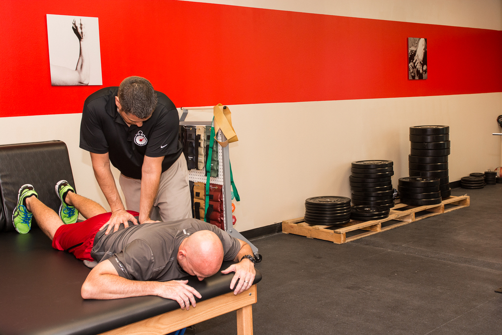 Manual therapy to help promote quality of motion…