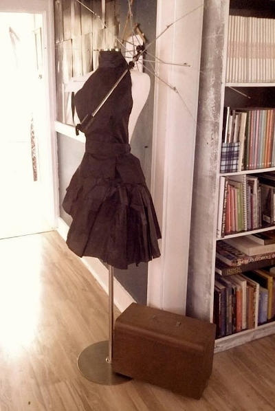 Our rainwear collection! Made from discarded umbrellas!