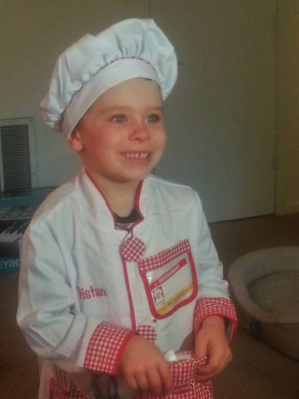 OUR YOUNGEST FAN AND FUTURE BAKER!