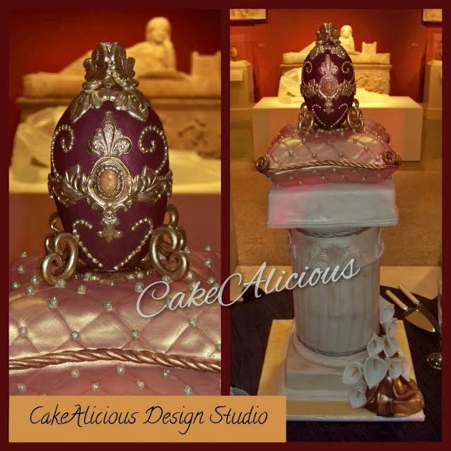 Roman Column Pillow with Gilded Egg.jpg