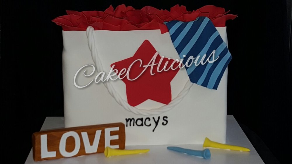 Macys Shopping Bag Grooms Cake.JPG