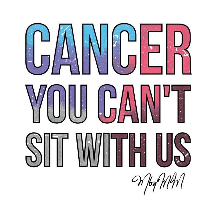 Photo courtesy of: Facebook.com/canceryoucant