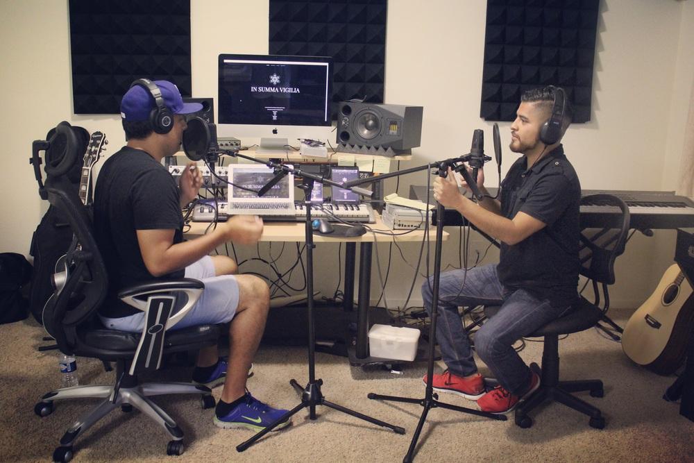 ISV Radio team at work.