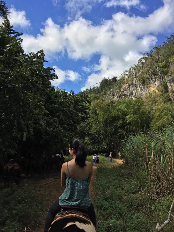 Cuba — Ingrid on Horseback.jpg