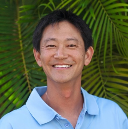 Tedd Jewell, owner of Clear Choice Cleaning. Reliable, professional window cleaning on Maui.