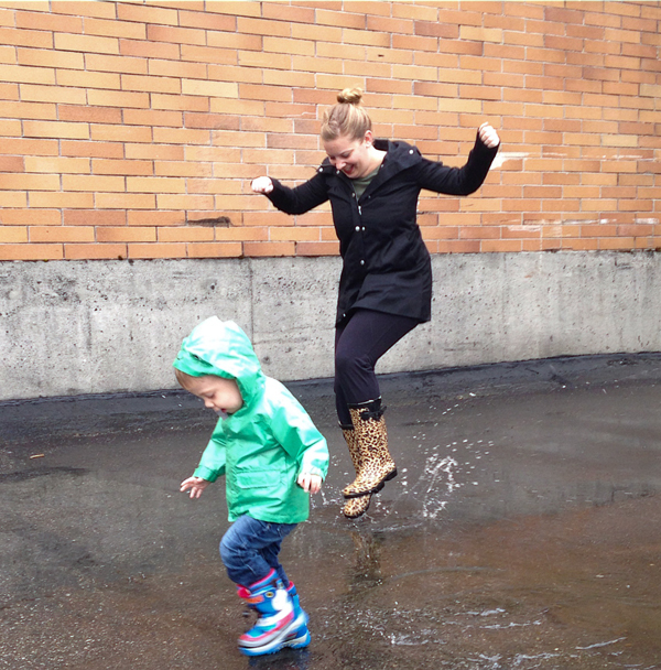 emily wight and son splash in puddles for missteenussr