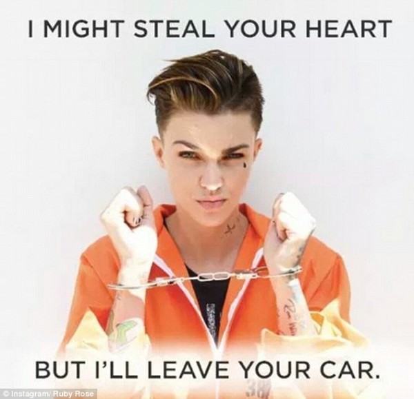ruby rose as stella on orange is the new black