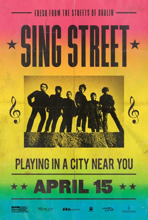 Sing Street Gig Poster
