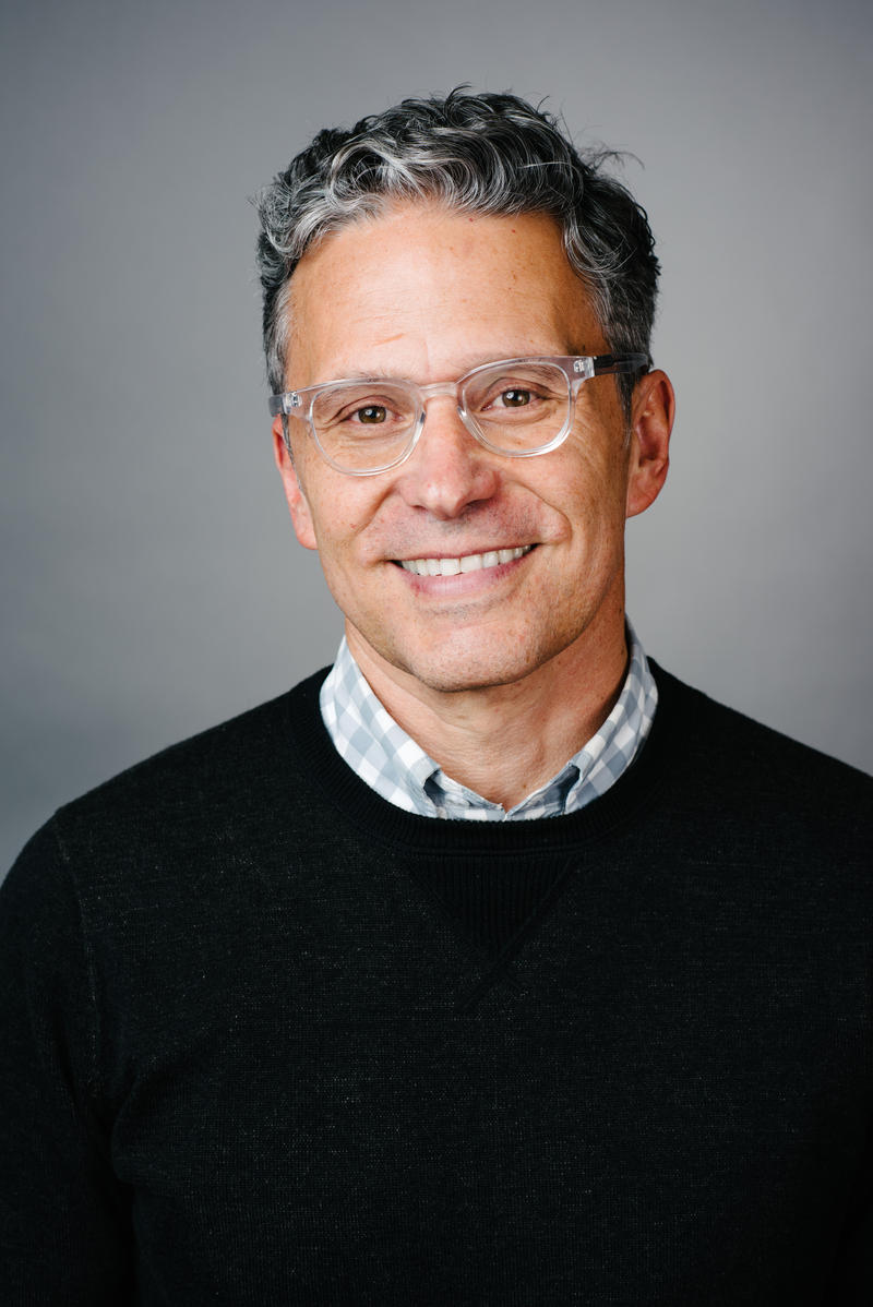 Doug Fabrizio, host and executive producer of RadioWest