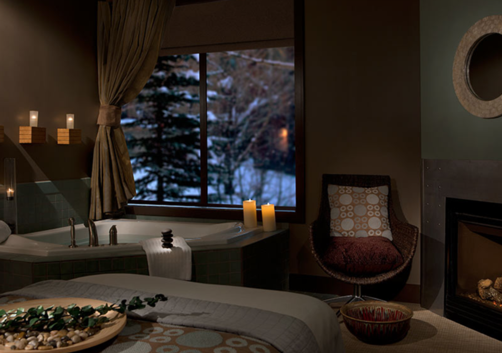 Chill Spa at Hotel Terra in Jackson Hole.