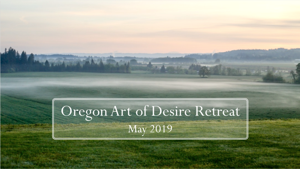 The retreat will take place at serene Scholls Valley Lodge, 29 miles west of Portland!