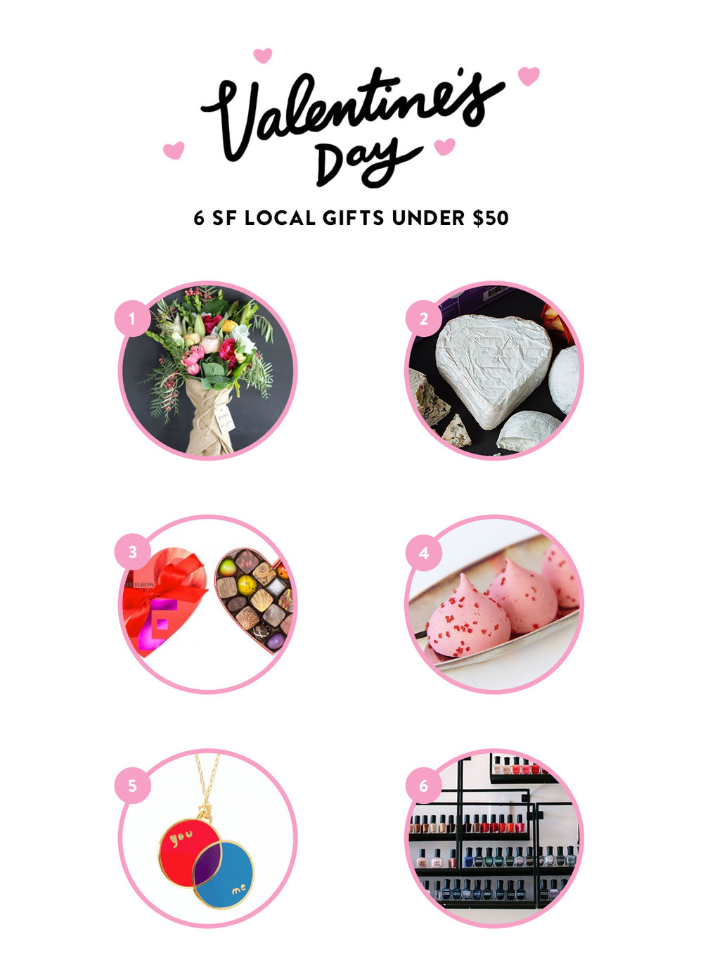 Valentine's Day: 6 SF Local Gifts Under $50