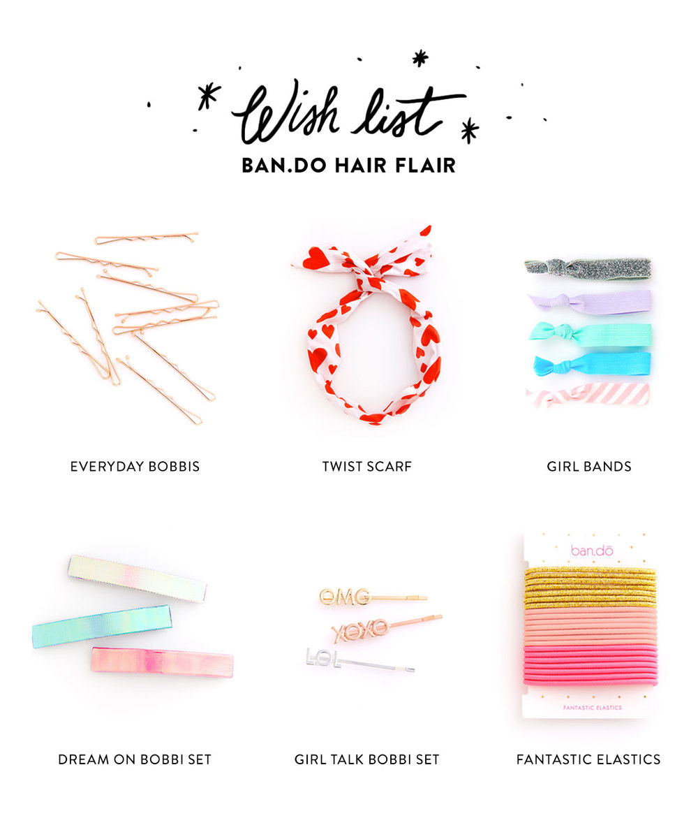 Wish List: Ban.do Hair Flair