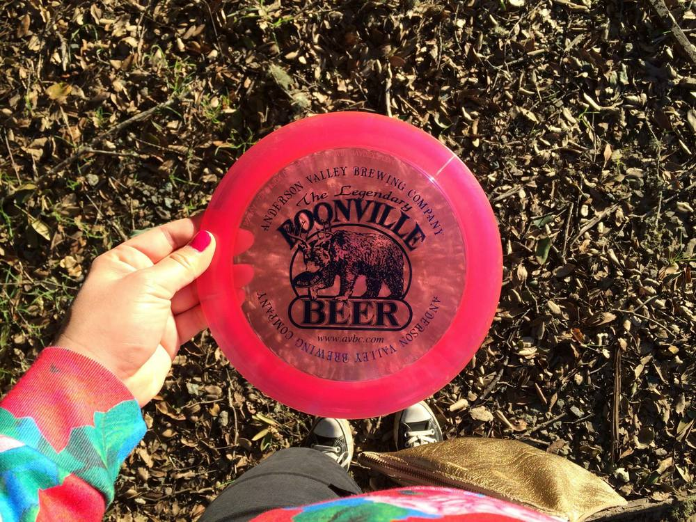 Anderson Valley Brewing Company Disc Golf