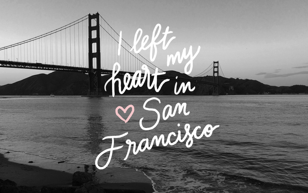 I left my heart in San Francisco desktop wallpaper