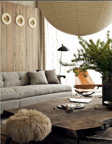 Raw Wood Coffee Table / Herman Furniture Singapore