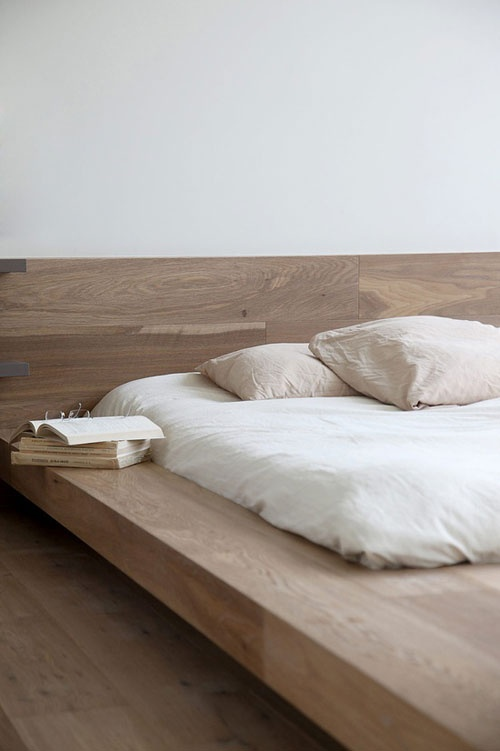 Solid Wood Bed Base / Herman Furniture Singapore