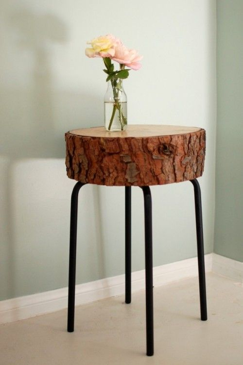Solid Wood Side Table Furniture / Herman Furniture Singapore