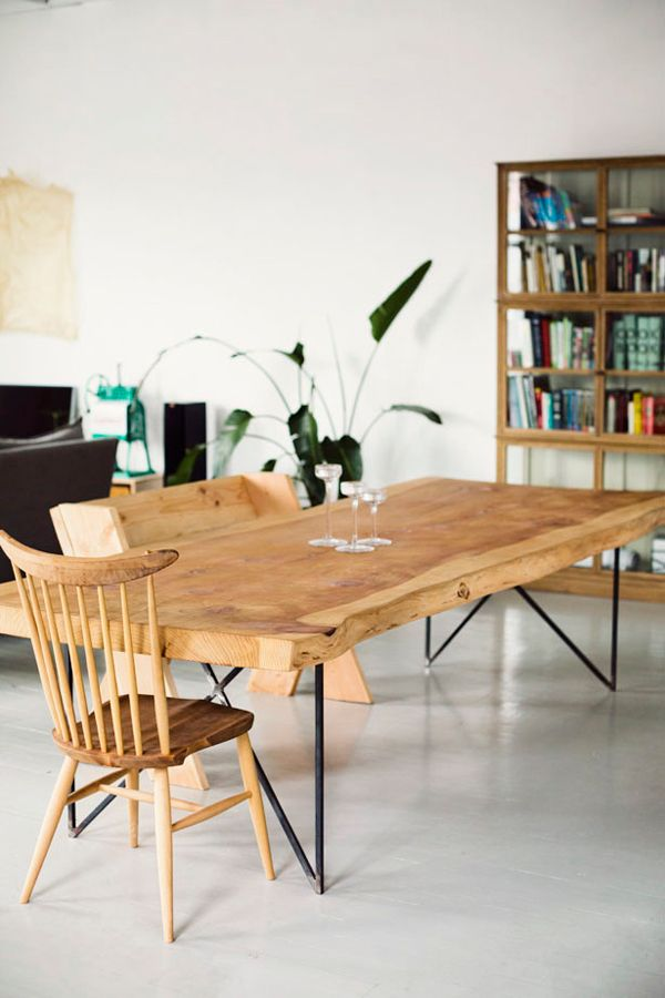 Solid Wood Table Furniture / Herman Furniture Singapore