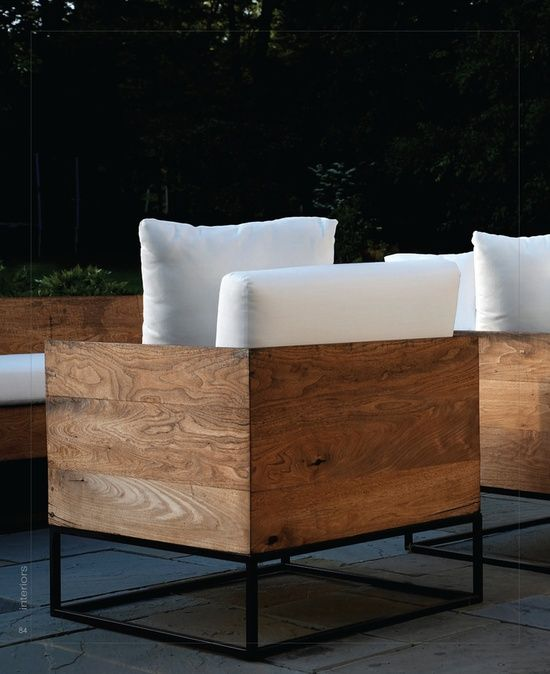 Wood Planks Seating / Herman Furniture Singapore