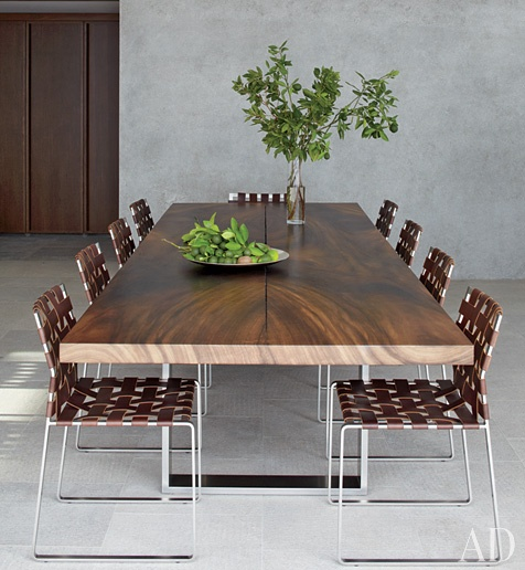Solid Wood Dining Table Regular / Herman Furniture Singapore