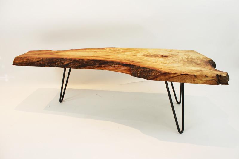 Solid Wood x Metal Hook Legs / Herman Furniture Singapore